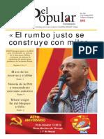 El Popular 326 Órgano de Prensa Oficial del Partido Comunista de Uruguay