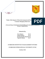 Study on Consumer Behavior and Buying Preferences in india