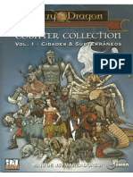 D20 System - Counter Collection - Vol 1 - Cidades & Subterrâneos - Biblioteca Élfica