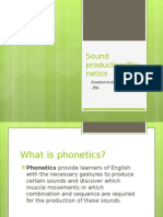 phonetics sound production ppt