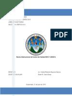 NormaInternacionaldeControldeCalidadISQC1
