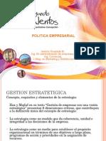 Politica y Estrategia 1