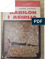 G. Conteneau, Babilon i Asirija, Zagreb 1978.