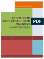 Material Catedra Historia Inst Ideas - 2015