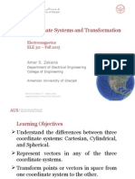 2_Coordinate Systems and Transformation