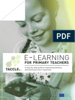 E-Learning for Primary School Teachers