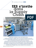 le MES dans Supply chain