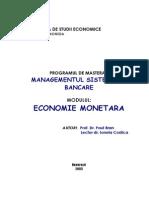 Economie Monetara - Paul Bran, Ionela Costica (2003).pdf