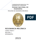 resonancia mecanica