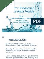 Presentación N°1 - Ciclo Hidrológico y Fuentes de Agua Dulce