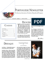 Portuguese Newsletter Spring 2015