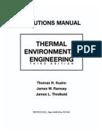 Hvac thermal environmental engineering solutions