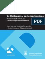 De Heidegger Al Postestructuralismo - Juan Manuel Aragüés y Jesús Ezquerra (Coords.)