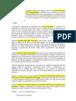 USO DEL PARÉNTESIS Y DEL CORCHETE