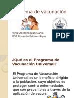 Esquema de Vacunación Mexico