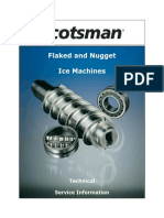 Scotsman Flake and Nugget Technical Service Manual