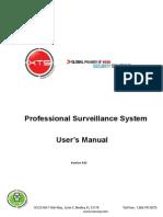 Professional Surveillance System