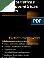 Caracteristicas Antropométricas Fetales