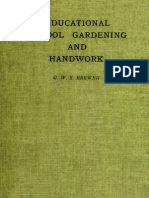 Educational School Gardening and Handwork (1913)