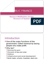 Fiscal Policy 1-Resource Mobilization Taxation