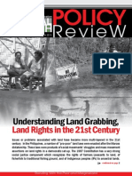 Policy Review 2015 Understanding Land Rights Land Grabbing 21st Century