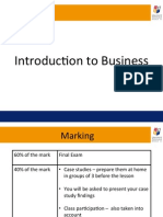 1. Types of Business and Business Activities