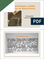 Herramientas y Útiles usados en Electrónica