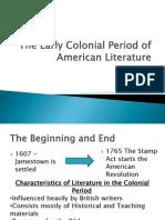 Colonial Period Intro