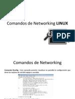 Comandos de Networking LINUX