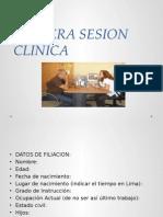 Primera Sesion Clinicacaso