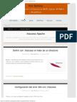 .Htaccess Apache, Configuracióm, Ejemplos, Redirecciones 301 de Urls - Anerbarre