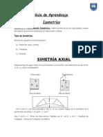 Guía de Aprendizaje - Transformaciones Isometricas - Material Concreto