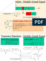 Transistor Bipolaire _ Modèle Grand Signal
