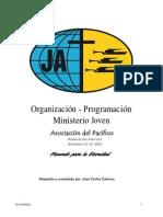 Organización-Planificación Sociedad de Jovenes