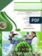 Educacion Ambintal e Interculturalidad