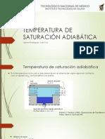 Temperatura de Saturación Adiabática