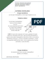Sistemas Cristalinos- Jose Miguel Iman Pelaez