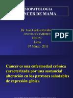 1. Fisiopatología Del Cáncer de Mama - Dr. José Carlos Revilla L