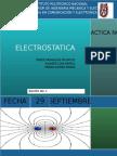 Practica electrostatica