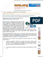 Bagaimana Cara Instal ArcGIS 10.1 _ - Artikel, Informasi, Ilmu, Jurnal, Berita, Hukum, Tentang Kehutanan