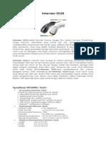 Scanner 2D Intermec SG20