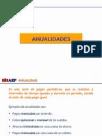 Clase Anualidades Vencidas 2015-2