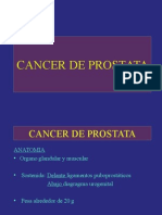 Cancer de Prostata