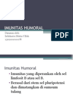 IMUNITAS HUMORAL