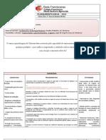 Plano de ensino para o 1º EM do CFNSA- 2010