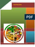 Valor Calórico de Los Alimentos- Informe
