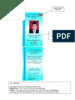 Contoh ID SK Tenggaroh 5