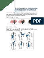 4 cách thắt cà vạt