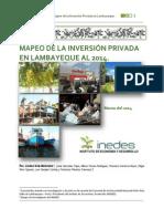 Mapeo Inversion Privada 2014 Empresa Inedes(2)