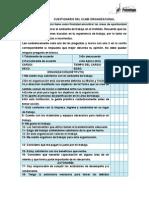 Cuestionario Del Clima Organizacional Rosa